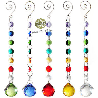 Rainbow Maker Hanging Suncatcher Crystal Prisms Ball Window Wedding Venue Decor