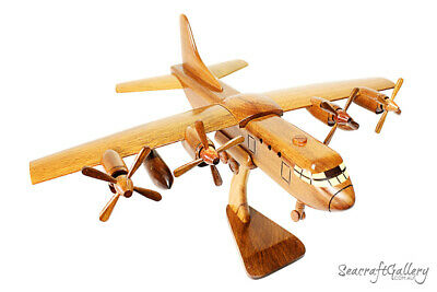 C130 Hercules Wooden Scale Model Aircraft Helicopter Military Hobbies Gifts