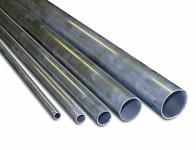 Aluminium Round Tube Various Sizes / 2200mm Long Grade HC6061 Mill Finish