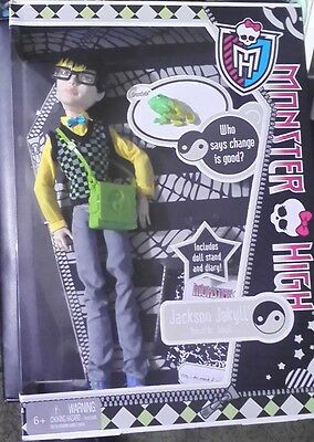 Monster High JACKSON JEKYLL Son of Dr Jekyll with  Crossfade   NRFB