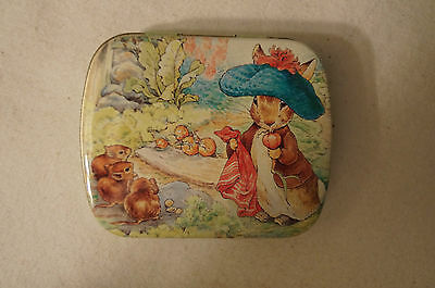 Collectable - Useable - Beatrix Potter - Mini - Trinket or Gift Tin.