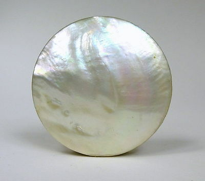 Mother Of Pearl Snuffbox Can 19 Jh