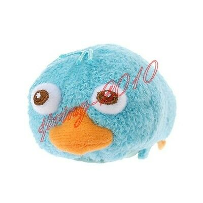 """Tsum Tsum Perry in Phineas and Ferb Platypus Perry 3.5"""" Mini Toy NWT"""