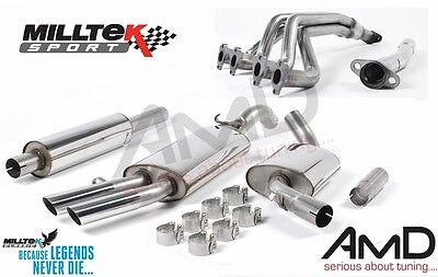 Milltek Mk2 Golf GTi 16V FULL Stainless Steel Exhaust System INCLUDES MANIFOLD