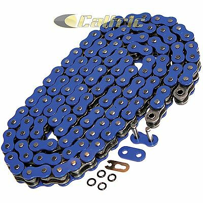 520 x 120 Links Motorcycle ATV BLUE O-Ring Drive Chain 520-Pitch 120-Links