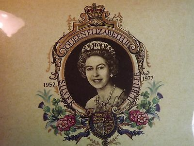 Queen Elizabeth Silver Jubilee 1952 to 1977 Covered Dish Carlton Ware England