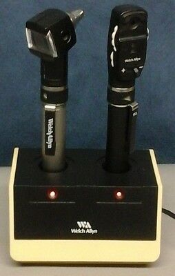 Welch Allyn PocketScope Otoscope Ophthalmoscope Diagnostic Set Scope Rechargable