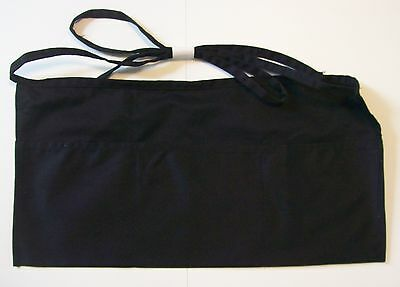 Liberty Bags Waist Apron 5501 3 Pocket Black or Forest Green