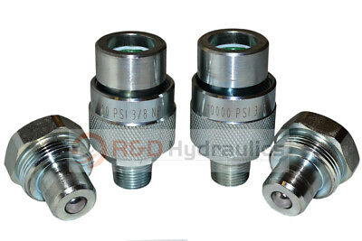 2-pair 10,000 psi Hydraulic Quick Coupler (for Enerpac Style C-604)