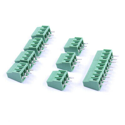 2 Pin / 3Pin  2.54mm 0.1'' PCB Screw Terminal Block Connector 20/30/50pcs