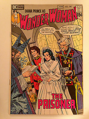 Wonder Woman (1971) 194  Diana Prince Mike Sekowsky Dick Giordano Dc Comics