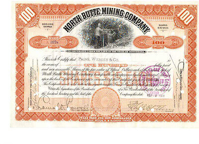 North Butte Mining Company  1905