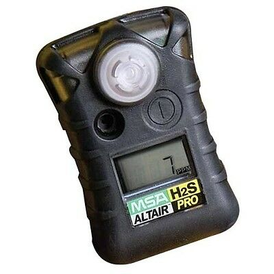 H2S Monitor, MSA ALTAIR Hydrogen Sulfide Single Gas Detector Part#10092521