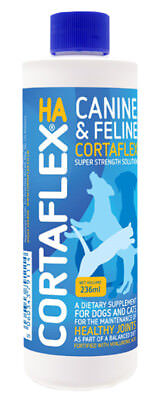 Canine Cortaflex Solution 236ml, Arthritis Relief for your dog