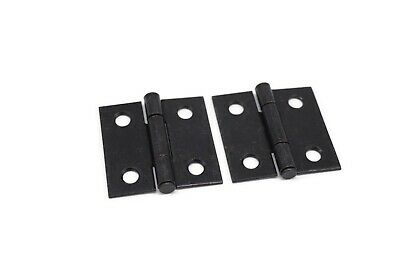 Butt Hinges Flush Mount  Surface Hinge Antique Style Sold In Pairs,