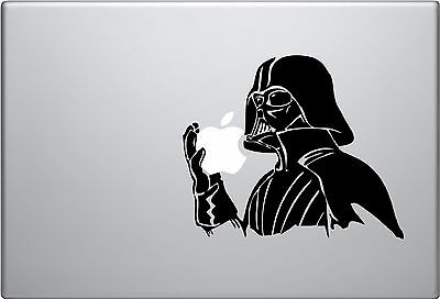 Star Wars Darth Vader, Jedi vinyl sticker for Apple laptops. Australia made