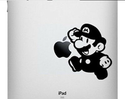 Super Mario vinyl sticker for Apple iPad. Australia made