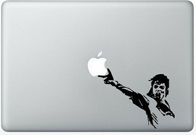 Michael Jackson sticker for Mac book/air/retina. Black vinyl decal