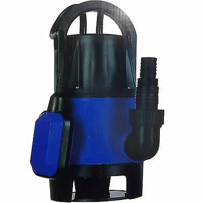 750W Universal Dirty Water Pump Submersible Automatic Electric Pond Pumps New