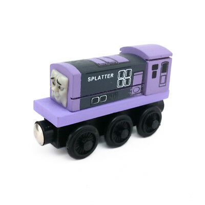 Thomas & Friends Splatter Magnetic Wooden Toy Train Loose New In Stock