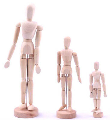 Artists Wooden Manikin Movable Limbs Human Joints Manikins Manakin Mannequin New
