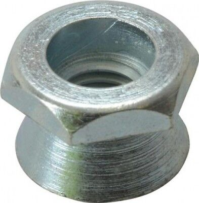 ForgeFix 10SHNT12 Tamper-Proof Cone Shear Nut Galvanised M12 Bag 10