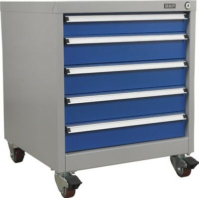 Sealey Mobile Industrial Cabinet 5 Drawer API5657A