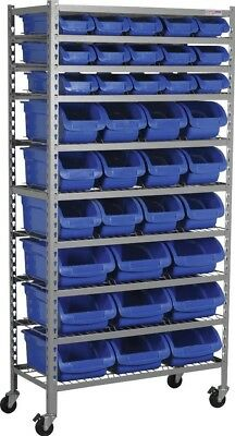 Sealey Mobile Bin Storage System 36 Bins