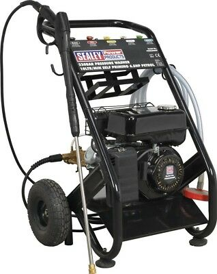 Sealey Pressure Washer 220 Bar 10 Litre/min Self Priming 6.5HP Petrol PWM2500SP