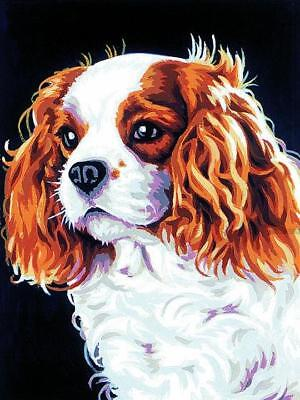 Margot de Paris Tapestry/Needlepoint Canvas – Cavalier King Charles