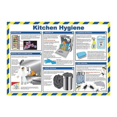 Signs and Labels General Sign 420x590mm Kitchen Hygiene FA607