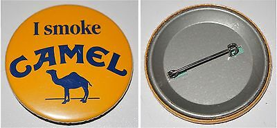 Button-Anstecker I smoke CAMEL