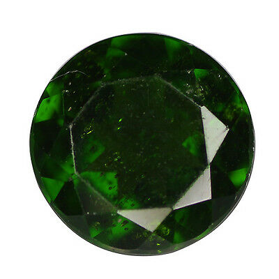 1.38ct RARE QUALITY DEEP RUSSIAN GREEN COLOR NATURAL CHROME DIOPSIDE GEMSTONE