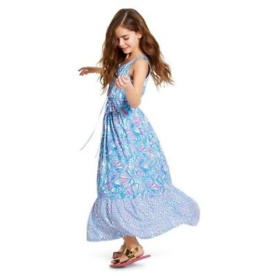 70175cd109e7 NWT Lilly Pulitzer for Target Girls Maxi Summer Dress - My Fans Size XS (4