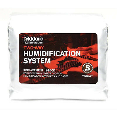 Planet Waves HPRP-12 Two-Way Humidification System Replacement 12-Pack Humidipak