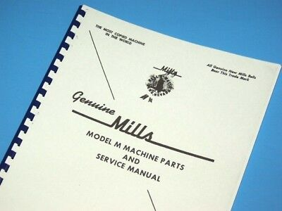 MILLS MODEL M Slot Machine Owners Service MANUAL