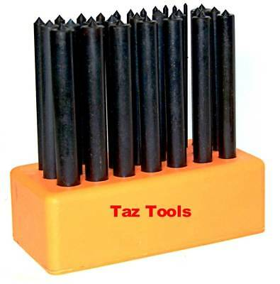 28 pc Heat Treated Transfer Punch set Impact Transfers roll pin safety pins tool