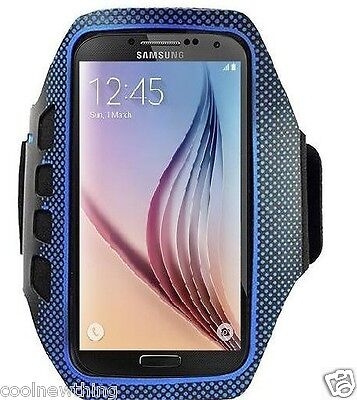 Jogging GYM Sport Strap Armband Holder Pouch Case For Samsung S5, S6 & S6 Edge