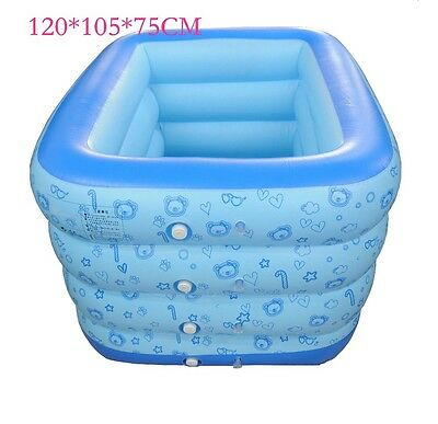 New Secure Inflatable Kids Swimming Pool Toddler piscine Inflatable air Mattress
