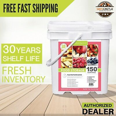 Lindon Farms 150 Freeze Dried Fruits Freeze Dried Long Term , Free Fast Shipping