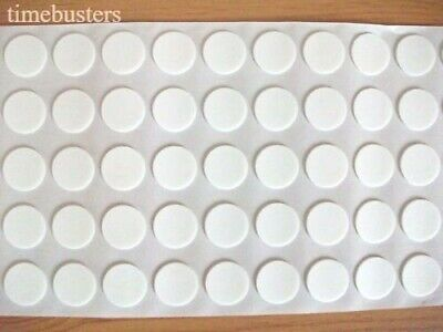 500 Double Sided Sticky 3D Effect Stick On Craft Foam Dots/Pads/Discs 18mm x 1mm