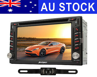 "7"" 2 DIN Car DVD Player GPS Stereo Head Unit Bluetooth 1080P AU Map +Free Camera"