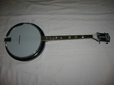 Vintage Harmony Roy Smeck 19 Fret Tenor Banjo w/ Waverly Tuners Made in USA