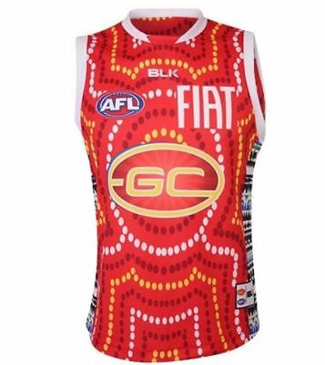 Gold Coast Suns Indigenous Guernsey 'Select Size' S-7XL BNWT5