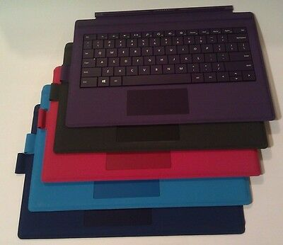 Microsoft Surface Pro Type Cover Keyboard w Pen Loop for Surface Pro 7, 6, 5, 4