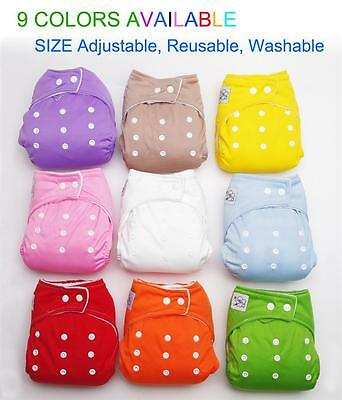 New adjustable washable baby diaper shell Insert Not Included