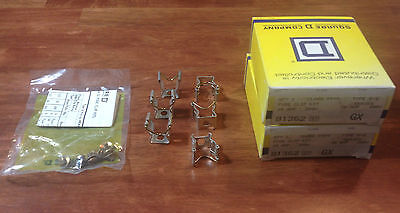 Lot of 2 Square D 9999 S-2 Fuse Clip Kit 81362 60-Amp/250-V; 30-Amp/600-V