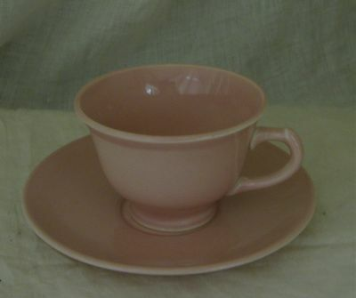 Taylor Smith & Taylor LURAY PASTELS SHARON PINK Cup and Saucer