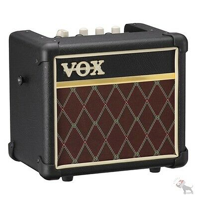 Vox MINI3 G2 Modeling Guitar Amplifier 5-Inch Speaker Classic Effects mini3g2cl