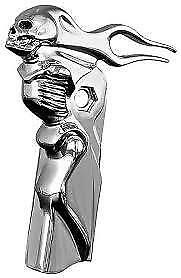 Kuryakyn 1081 Zombie Shift Arm Cover CHROME EACH Suit Softails 2007-Up Harley